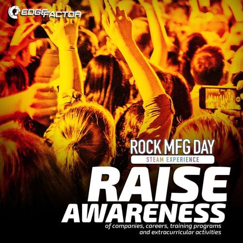 _Rock MFG Day Reason 5 Raise Awareness Social Media