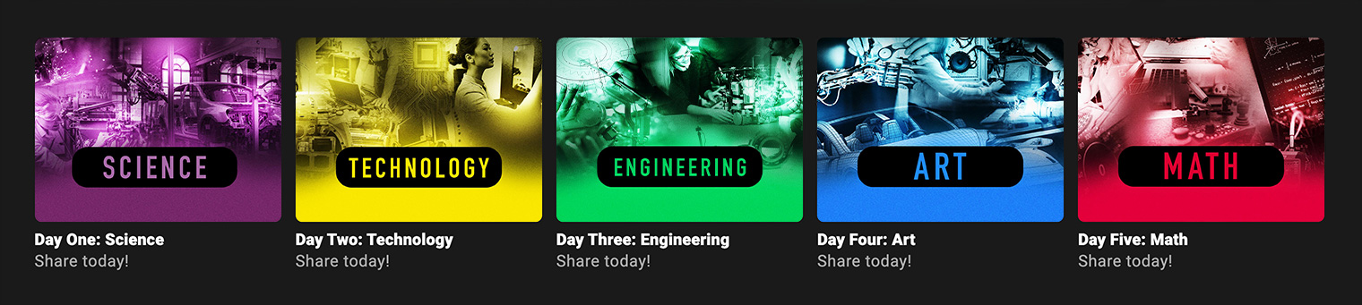 Science, Technology, Engineering, Art and Math (STEAM)