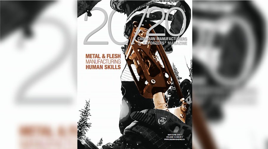 Edge Factor on the cover of 20/20 Magazine with Metal & Flesh film