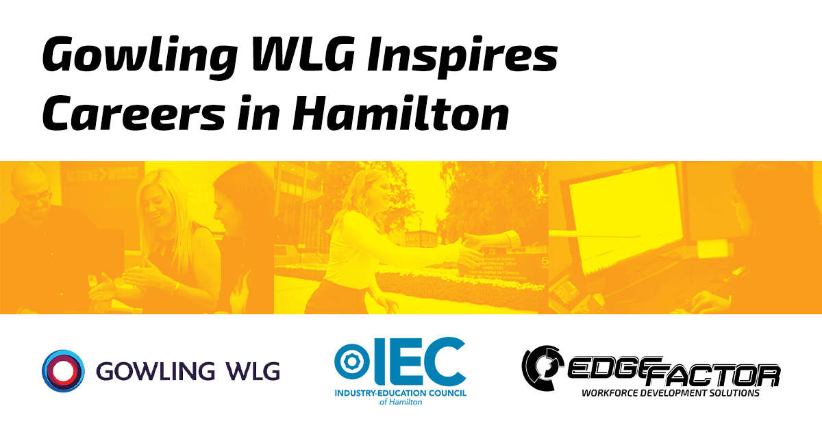 Edge Factor filmed three Career Profile videos to highlight specific careers at Gowling WLG,