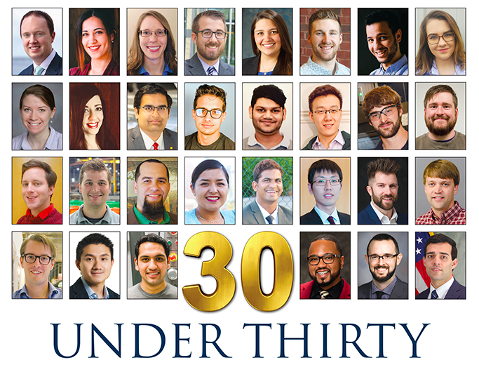 Manufacturing Engineering's 2018 Class of 30 Under 30