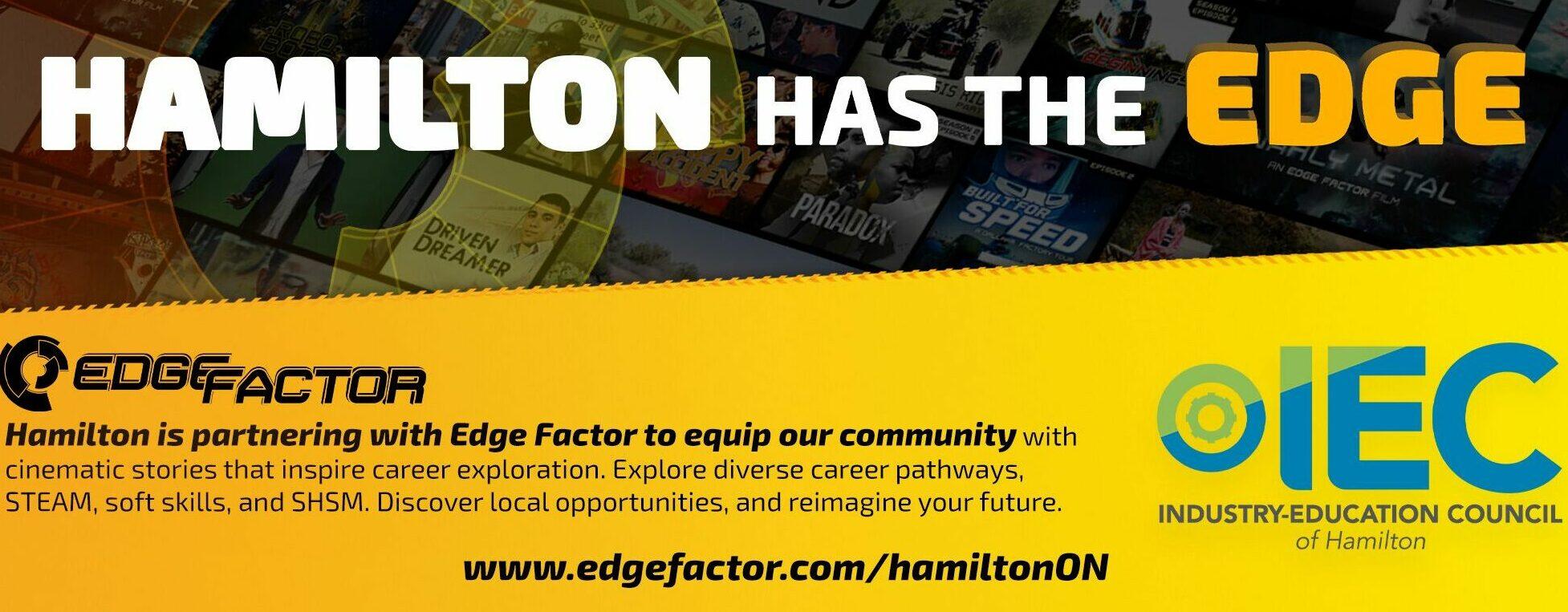 Hamilton and Edge Factor partner to tackle Workforce Development